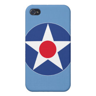 Aircraft Star - Pre 1947 iPhone 4/4S Cases