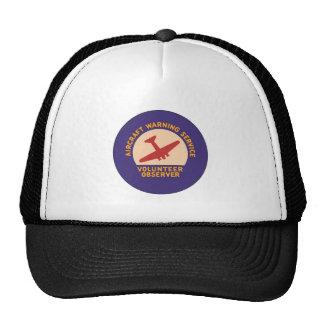 Aircraft Warning Service Volunteer Observer Mesh Hat