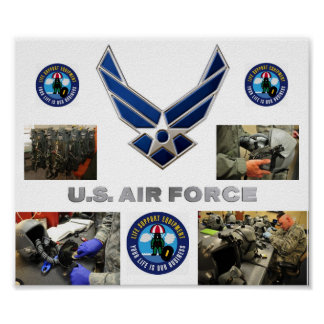 Aircrew Life Support Poster