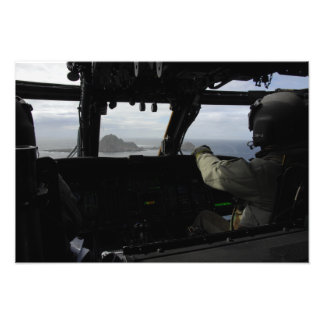 Aircrews approach Farallon Island Photo Print