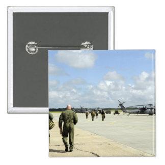Aircrews prepare to depart 15 cm square badge