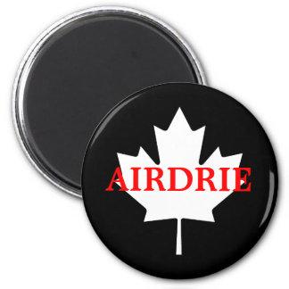 Airdrie 6 Cm Round Magnet