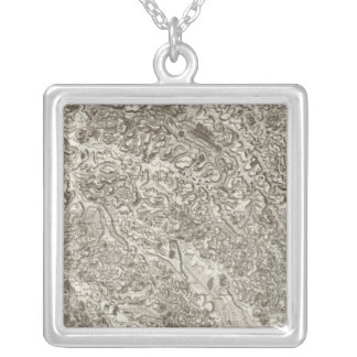 Aire, Orthez Silver Plated Necklace