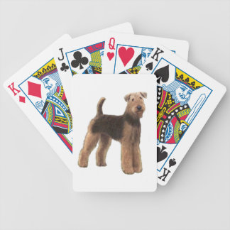 AIREDALE (A) - Standing Bicycle Playing Cards