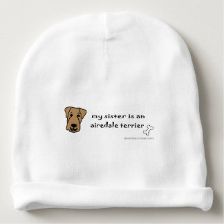 airedale baby beanie