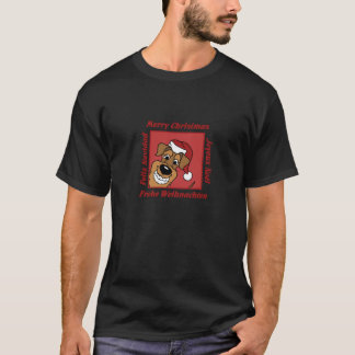 Airedale Christmas T-Shirt