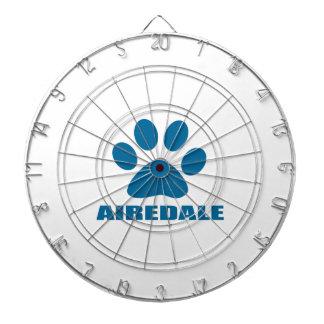 AIREDALE DOG DESIGNS DARTBOARD