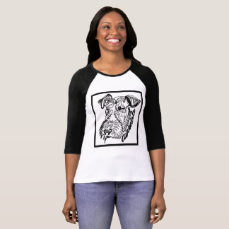 Airedale Dog Doodle T-Shirt