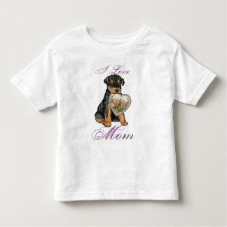 Airedale Heart Mom Tshirt