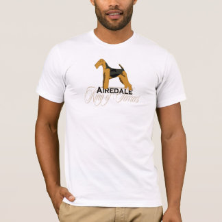 Airedale, King of Terriers, Detailed T-Shirt