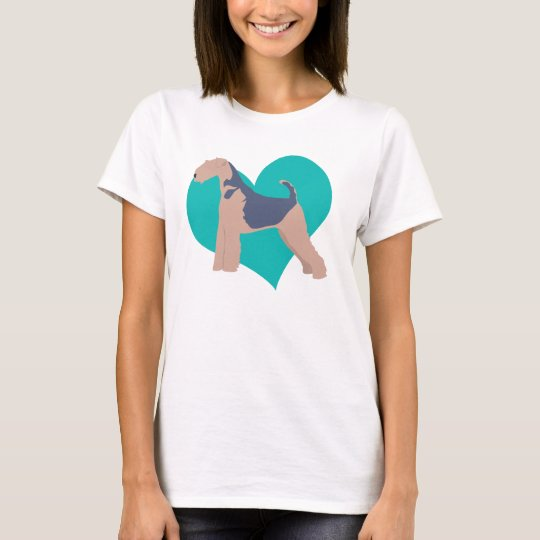Airedale Love T-Shirt