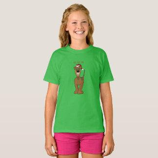 Airedale Santa T-Shirt
