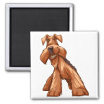 airedale square magnet
