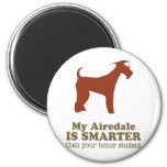 Airedale Terrier 6 Cm Round Magnet