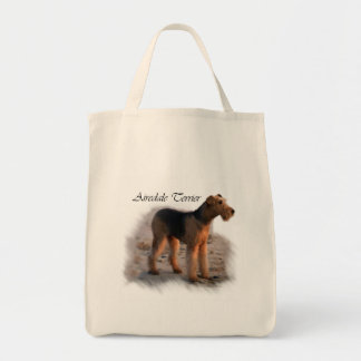 Airedale Terrier Art Gifts Tote Bag