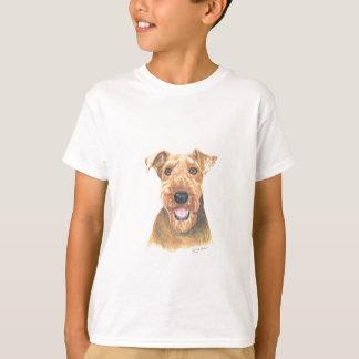 Airedale Terrier Art T-Shirt