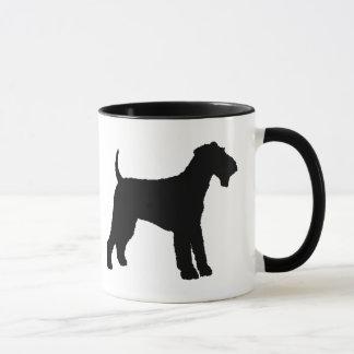 Airedale Terrier (black) Mug