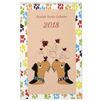 Airedale Terrier Calendar