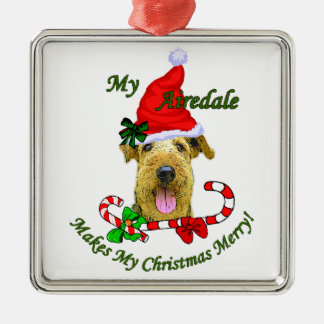Airedale Terrier Christmas Gifts Christmas Ornament