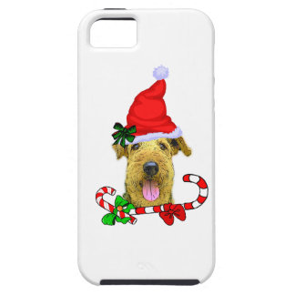 Airedale Terrier Christmas Gifts iPhone 5 Cases