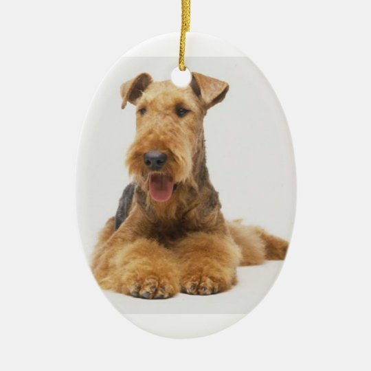 Airedale Terrier Christmas Ornament