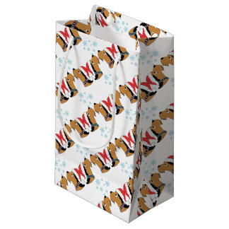 Airedale Terrier Christmas Wrapping Small Gift Bag