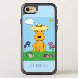 Airedale Terrier Dog in Garden iPhone 7 OtterBox