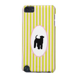 Airedale Terrier dog silhouette ipod touch 4G case iPod Touch 5G Cover