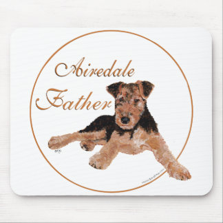 Airedale Terrier Fathers Day Mousepads
