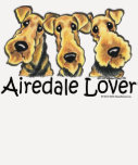 Airedale Terrier Lover T Shirts