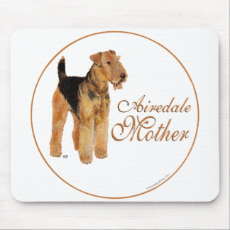 Airedale Terrier Mother's Day Mousepads