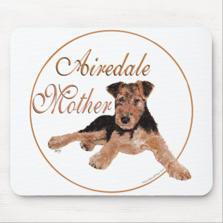 Airedale Terrier Mothers Day Mousepads