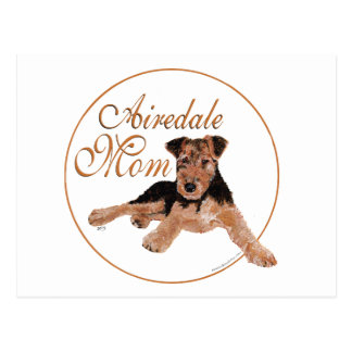 Airedale Terrier Mothers Day Post Card
