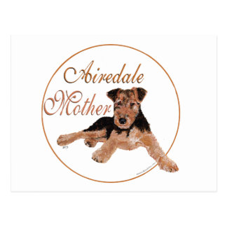 Airedale Terrier Mothers Day Post Cards