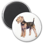 Airedale Terrier Refrigerator Magnet