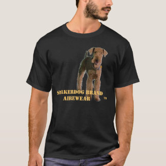 "Airedale Terrier ""Sneakerdog"" T-Shirt"