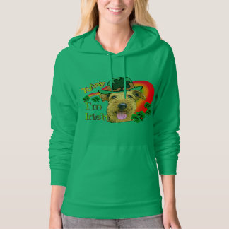 Airedale Terrier St. Patrick's Day Hoodie
