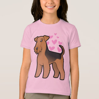 Airedale Terrier / Welsh Terrier Love T-Shirt