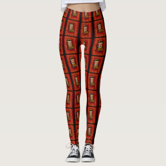 Airedale Terrier Year of the Dog Leggings