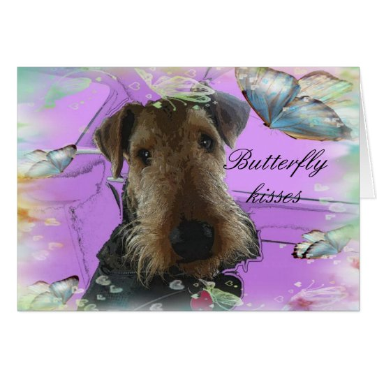 Airedale Terrirer Greeting Card