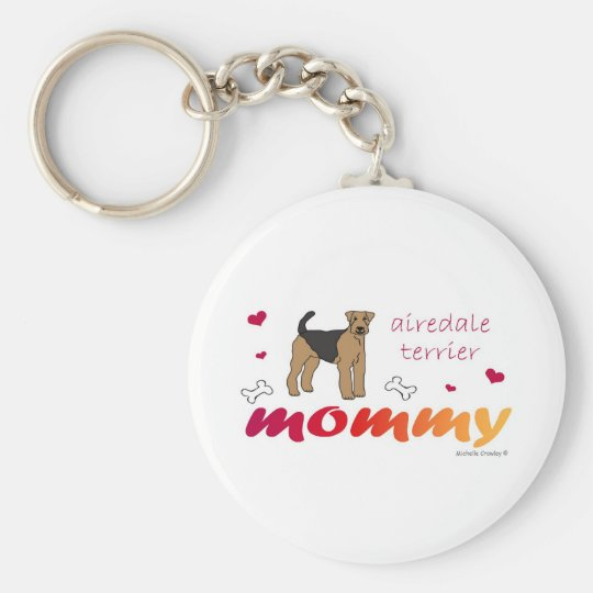 AiredaleTerrier Key Ring