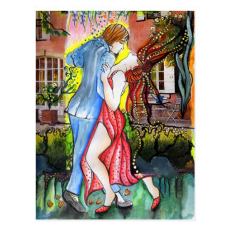 Aires del Sur Tango Postcard