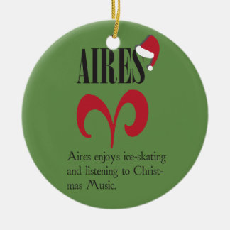 Aires Zodiac Holiday Ornament