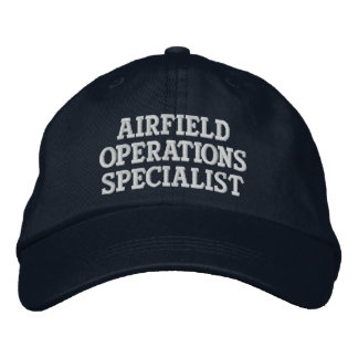 Airfield Operations Specialist Embroidered Hat