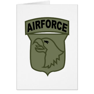 Airforce Greeting Card