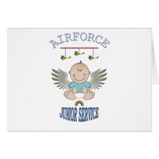 AIRFORCE JUNIOR SERVICE GREETING CARDS