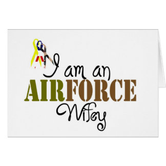 airforce wife cards