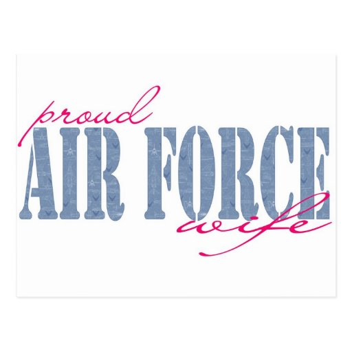Airforce Wife Post Cards