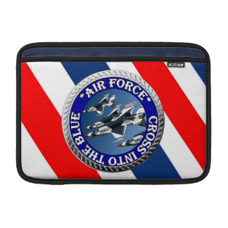 AirForceFanMerch, Air Force Illustation Sleeve For MacBook Air