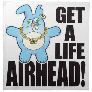 Airhead Bad Bun Life Napkin